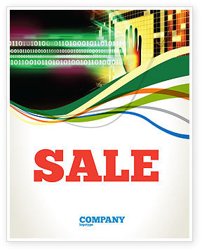 Technology, Science & Computers: Computer Identification Sale Poster Template #07067