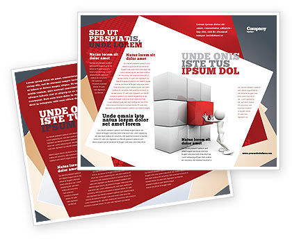 Fitting the Part Brochure Template, 07093, Consulting — PoweredTemplate.com