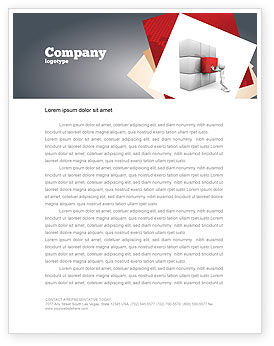 Fitting the Part Letterhead Template, 07093, Consulting — PoweredTemplate.com