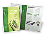 Careers/Industry: Olive Lamp Brochure Template #07113