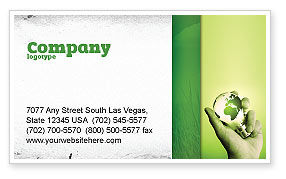 Careers/Industry: Olive Lamp Visitekaartje Template #07113