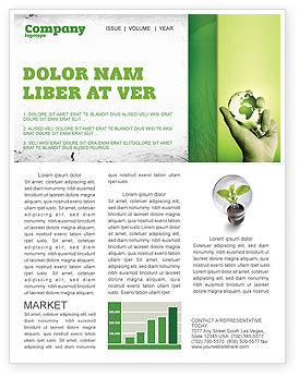 Careers/Industry: Olive Lamp Newsletter Template #07113