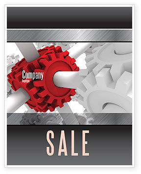 Utilities/Industrial: Connecting Point Sale Poster Template #07132