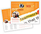 Education & Training: Teamwork Principles Brochure Template #07133
