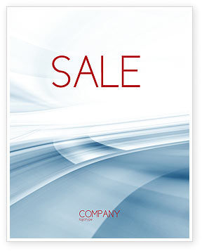 Clean Theme Sale Poster Template