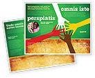 Religious/Spiritual: Plantilla de folleto - unidad racial #07178