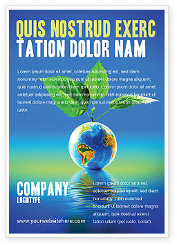 Global: Fertile Earth Ad Template #07199