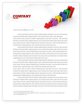 Consulting: Stages Letterhead Template #07202