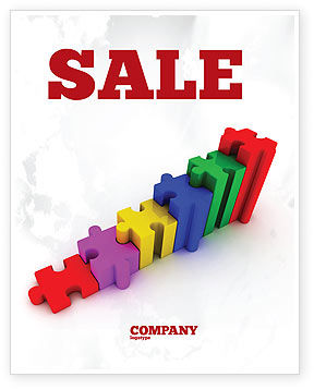 Stages Sale Poster Template, 07202, Consulting — PoweredTemplate.com