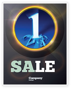 Premier Sale Poster Template, 07210, Business Concepts — PoweredTemplate.com