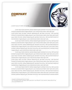 World Healing Letterhead Template, 07228, Medical — PoweredTemplate.com