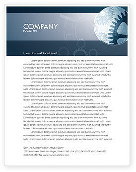Software Developing Letterhead Template, 07236, Technology, Science & Computers — PoweredTemplate.com