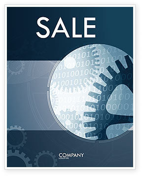 Technology, Science & Computers: Software Developing Sale Poster Template #07236