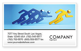 Business Concepts: Rival Business Card Template #07246