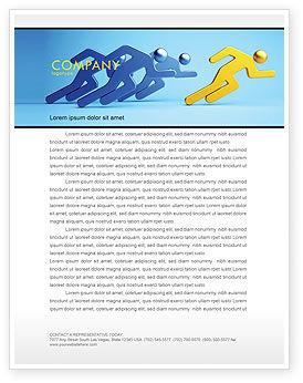 Business Concepts: Rival Letterhead Template #07246