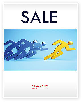 Business Concepts: Rival Sale Poster Template #07246