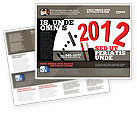 Holiday/Special Occasion: Time of 2012 Brochure Template #07252
