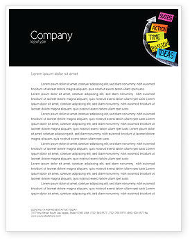 From Ideas to Success Letterhead Template, 07260, Education & Training — PoweredTemplate.com