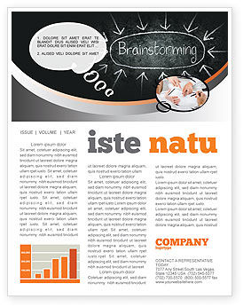 Business: Brainstorming Newsletter Template #07268