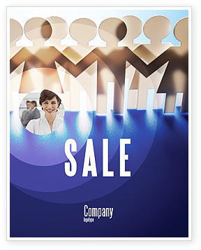 Consulting: Peoples Unity Sale Poster Template #07271
