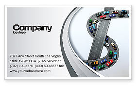 Cars/Transportation: Transportation Of Money Business Card Template #07281