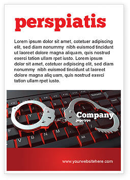 Legal: Computer Crimes Ad Template #07286