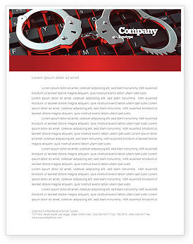 Legal: Computer Crimes Letterhead Template #07286