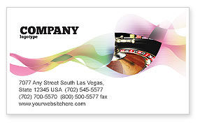 Careers/Industry: Roulette Business Card Template #07325