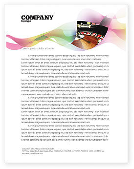Careers/Industry: Roulette Letterhead Template #07325