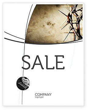 Religious/Spiritual: Thorns Sale Poster Template #07326