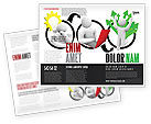 Education & Training: Idea Implementation Plan Brochure Template #07375