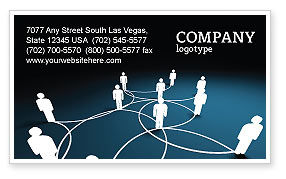 Networking Business Card Templates in Microsoft Word & Publisher ...