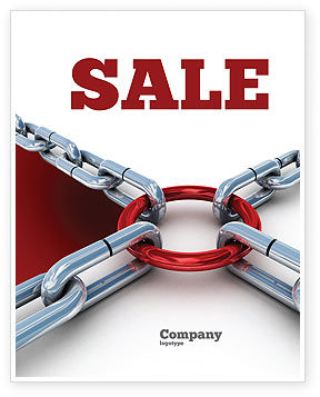 Consulting: Main Link Sale Poster Template #07441
