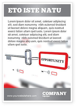 Consulting: Key Opportunity Ad Template #07495