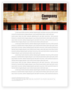 Abstract Bars Letterhead Template, 07512, Abstract/Textures — PoweredTemplate.com
