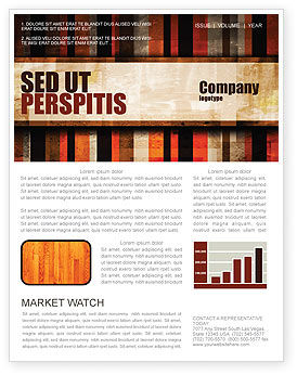 Abstract Bars Newsletter Template, 07512, Abstract/Textures — PoweredTemplate.com