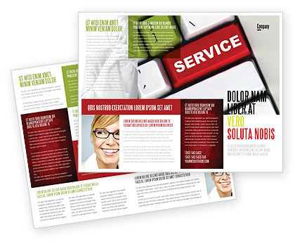 Careers/Industry: High-Tech Service Brochure Template #07549