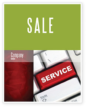 High-Tech Service Sale Poster Template