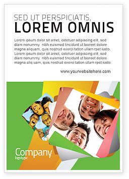Careers/Industry: Studenten Team Advertentie Template #07551