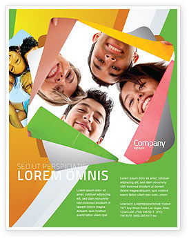 Careers/Industry: Students Team Flyer Template #07551
