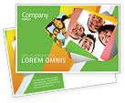 Careers/Industry: Students Team Postcard Template #07551