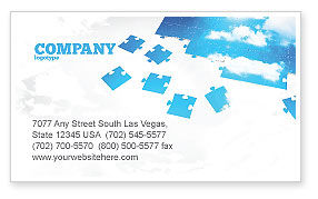 Sky puzzle business card template layout download sky puzzle sky puzzle business card template 07563 consulting poweredtemplate colourmoves