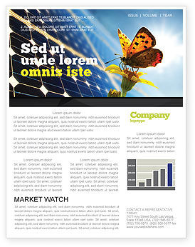 Solar Power Newsletter Template, 07566, Technology, Science & Computers — PoweredTemplate.com