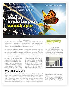 Solar Power Newsletter Template