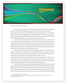 Giving Points Letterhead Template, 07577, Education & Training — PoweredTemplate.com