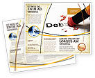 Financial/Accounting: Debt Liquidation Brochure Template #07587