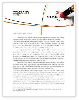 Debt Liquidation Letterhead Template