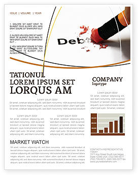Debt Liquidation Newsletter Template