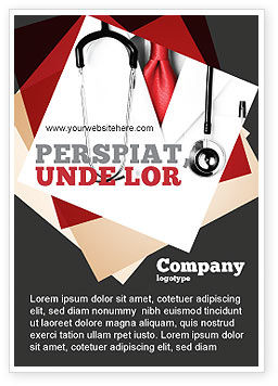 Medical: Rigorous Doctor Ad Template #07594