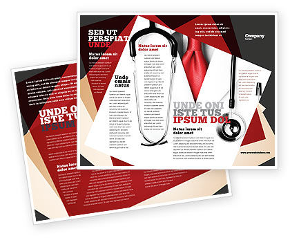 Rigorous Doctor Brochure Template Design And Layout Download Now - Medical office brochure templates